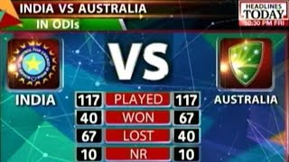 World Cup Semi Final Clash: India Vs. Australia