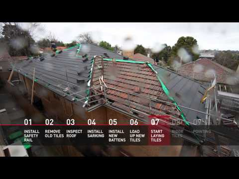 Monier 10 Steps to Better Re-roofing