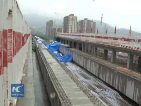 Beijing builds first maglev line