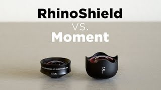MOMENT vs RHINOSHIELD | Smartphone Lens Shootout