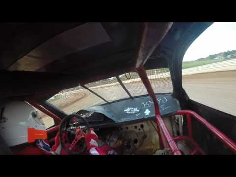 Heat race 2 #01 Bedford Speedway 6-9-17