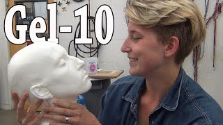 Repeat youtube video Lifecasting: Gel-10 Headcast