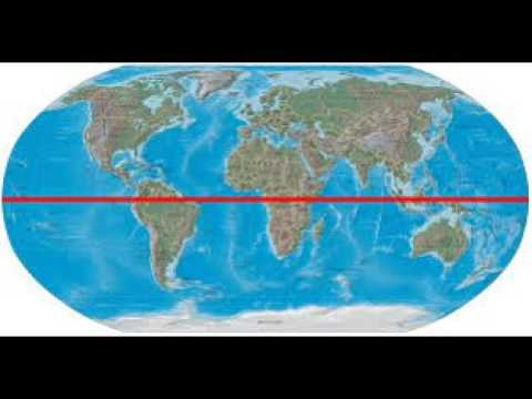 equator world map