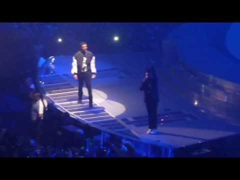 The Weeknd & Drake Performing Crew Love Live