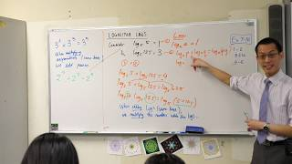 Logarithm Laws (2 of 3: Subtracting logarithms)