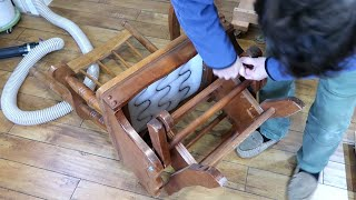 Fixing a trash picked glider rocking chair