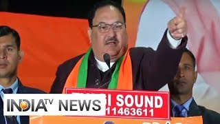 Vote politics first, nation second for Congress and AAP: Nadda