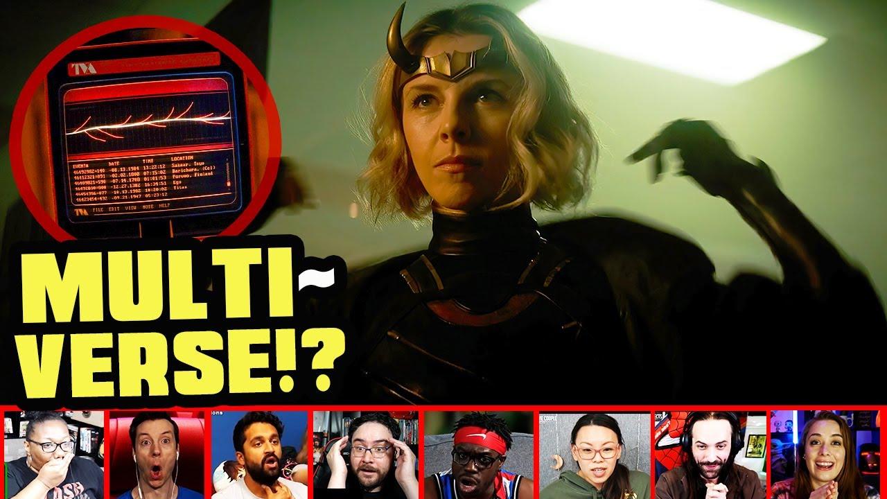 Reactors Reaction To Lady Loki And The Ending To Loki Episode 2 | Mixed Reactions