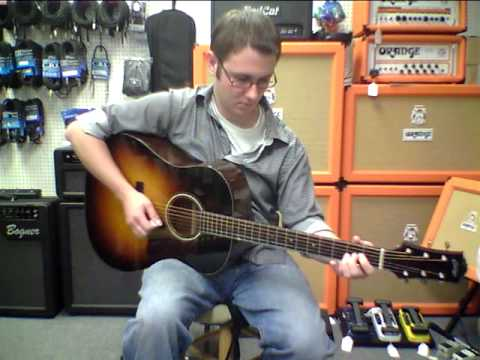 collings guitar cjmh acoustic for sale in tallahasse florida played by aaron o 39 rourke youtube. Black Bedroom Furniture Sets. Home Design Ideas