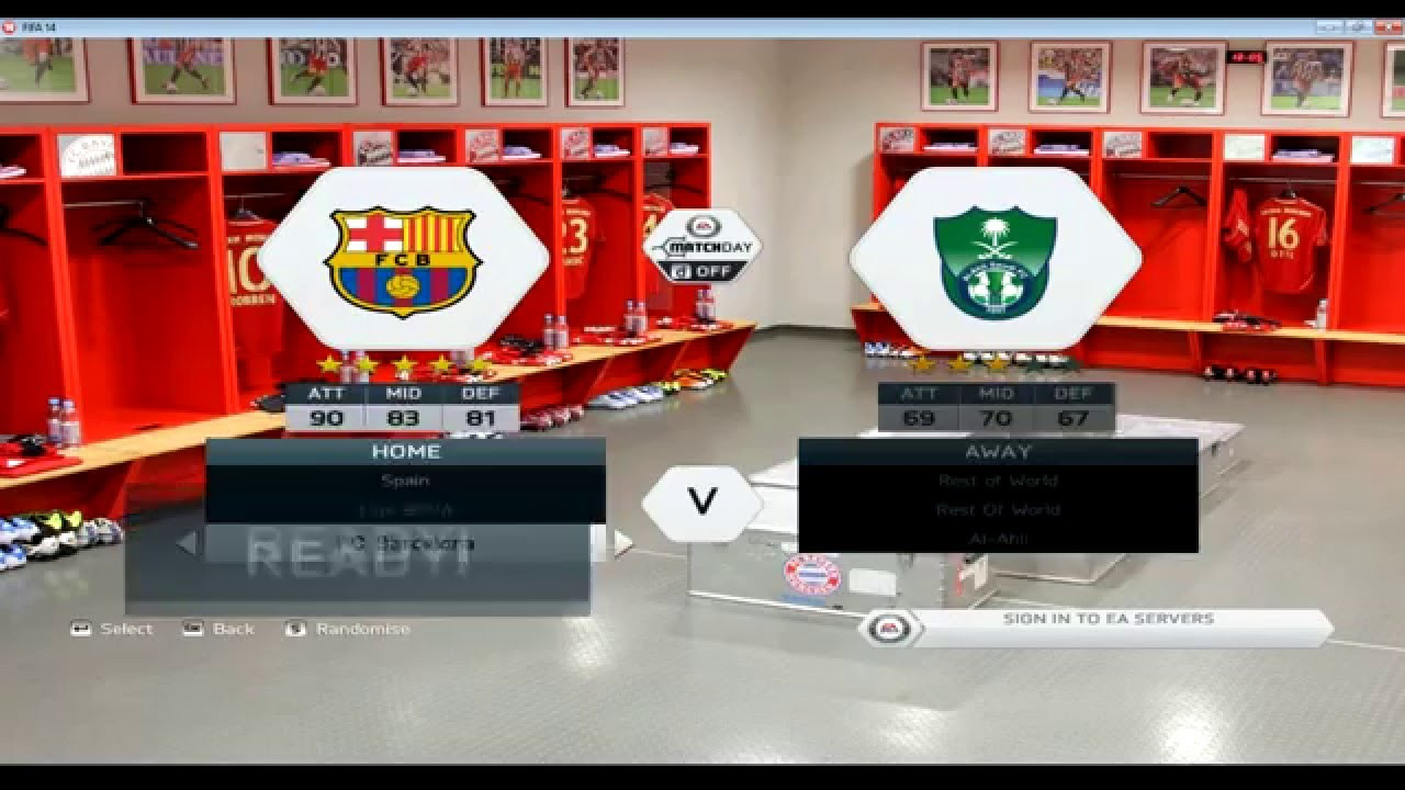 FIFA14 ModdingWay Mod - ALL IN ONE - 7 5 4 - Season 15/16 Download +  install by Qais H
