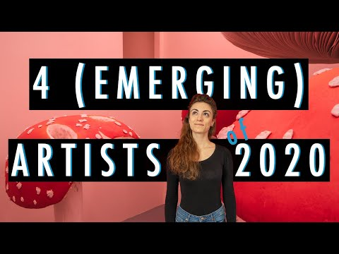 TOP ARTISTS to watch in 2020 | Emerging artists you have to know | Culturush Contemporary Artists