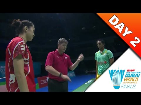 Dubai Superseries Finals 2016 | Day 2 | Sun Yu vs Pusarla V. Sindhu [HD]