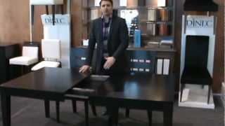 Dinec Tables With Self-storage