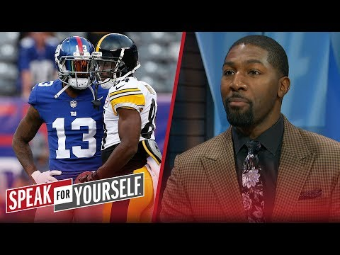 Odell Beckham Jr. or Antonio Brown? Greg Jennings chooses the better WR | NFL | SPEAK FOR YOURSELF