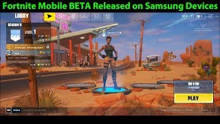 Fortnite Mobile BETA Available for Samsung Devices NOW | PUBG Mobile Still Better?