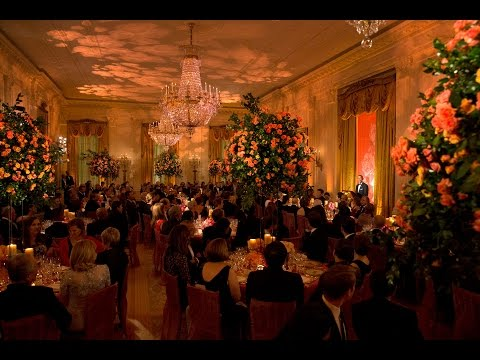 The President and the President of the People's Republic of China at the State Dinner