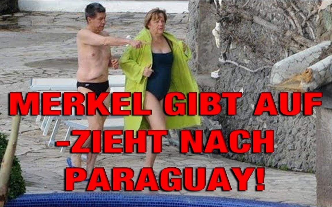 Angela Merkel Paraguay