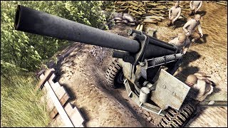WESTERN FRONT IN A NUTSHELL - US Arty Whores Funny Parody - RobZ Realism Mod - MoW Assault Squad 2