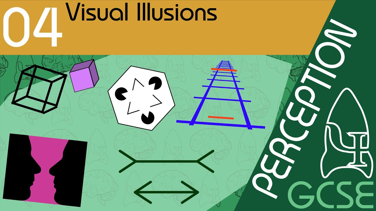 Visual Illusions - Perception, GCSE Psychology [AQA]