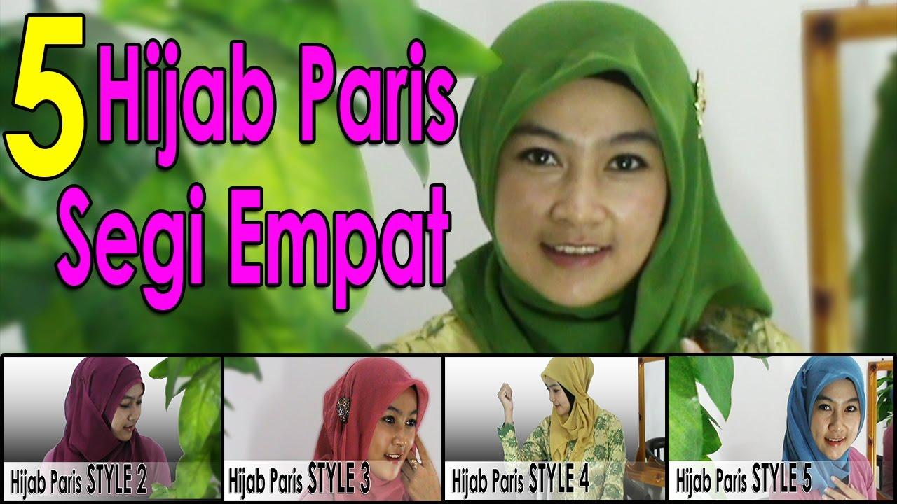 5 Video Cara Memakai Jilbab Segi Empat Modern By AWMCollection 229