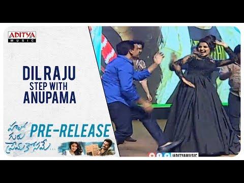 Dil Raju  Ram  Anupama  DSP Dance on Stage @ Hello Guru Prema Kosame Pre Release Event