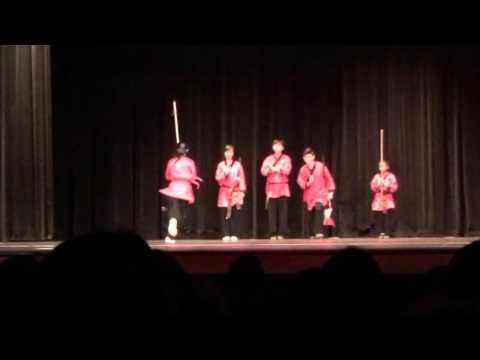 Shaolin Wushu Performance at Westwood High School, Mesa AZ