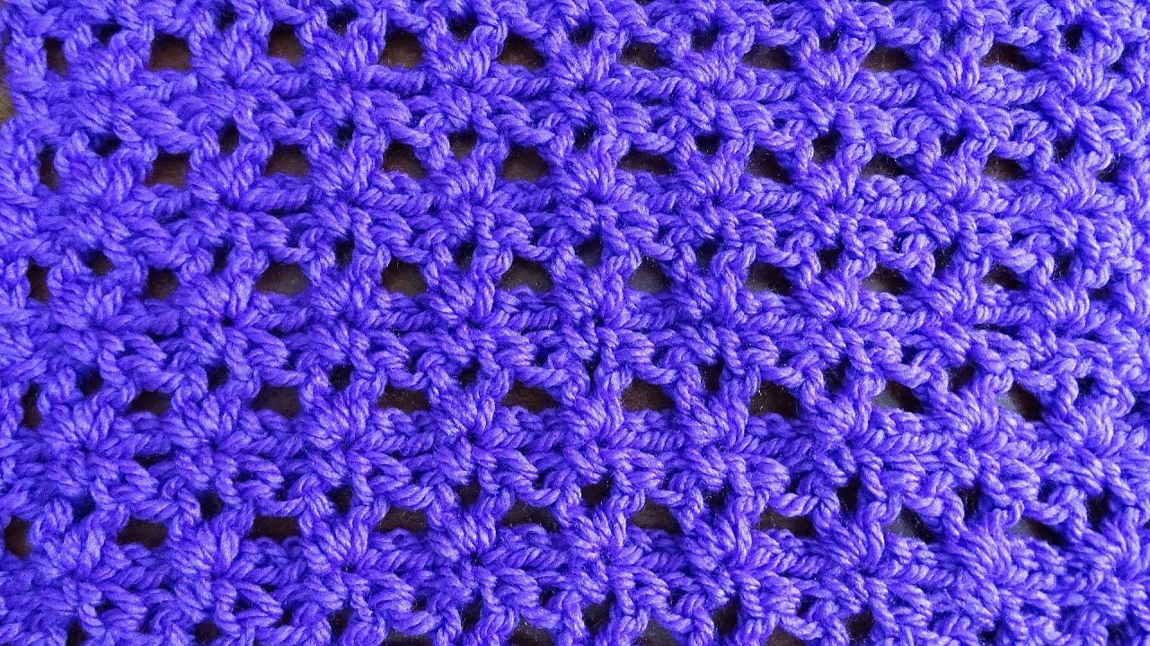 Easy V Stitch - Crochet Tutorial