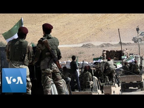 Turkey's Army and Turkish-Backed Syrian Militia Enter Syrian Town Tel Abyad