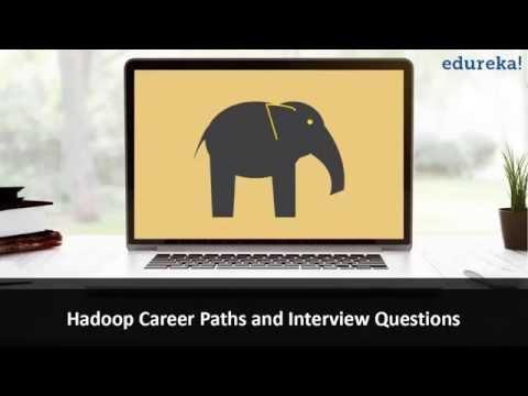 Hadoop Interview Questions and Answers | Hadoop Career Paths | Hadoop Job Preparation | Edureka