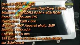 Sanei N10 3G Test Francais