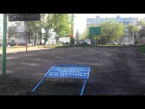 Вандализм на детской площадке начальника и работников ЖЭУ 8 (УФА)