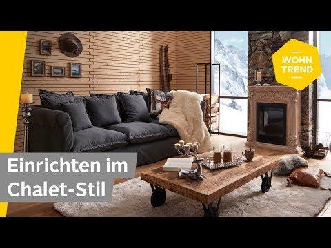 Einrichten im Chalet-Stil: Wohnzimmer rustikal einrichten | Roombeez — powered by OTTO
