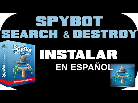 Descargar e Instalar SpyBot - Search & Destroy 1.6.2 En Español