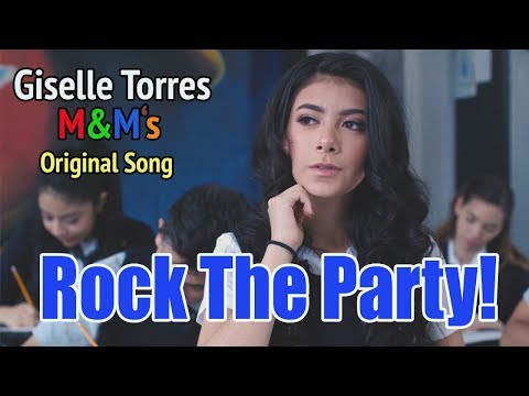 ROCK THE PARTY! - Giselle Torres M&M's Original Song