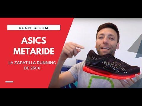 Asics Metaride 2019: Review en español y su precio