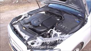 Mercedes Benz E220d Fuel Consumption Test