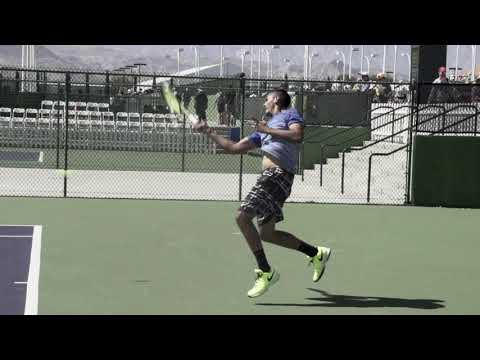 Nick Kyrgios Forehand Slow Motion @Top Tennis Training - Pro Tennis Lessons