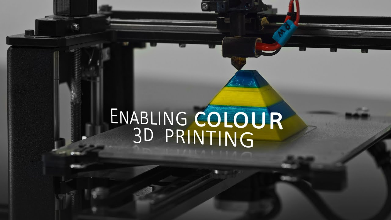 Color printing purdue - 3ders Org Mosaic Manufacturing 3d Prints A Flashlight Using Just A Single Extruder 3d Printer News 3d Printing News