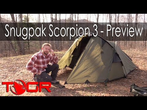 Inexpensive And Strong! - Snugpak Scorpion 3 - Preview