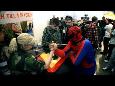 Superior TV - Spiderman 3 @ Bilsport Performance & Custom Motor Show 2011