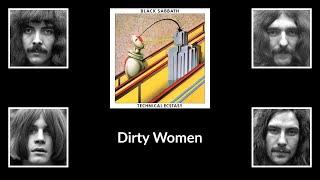 Black Sabbath - Dirty Women (lyrics)