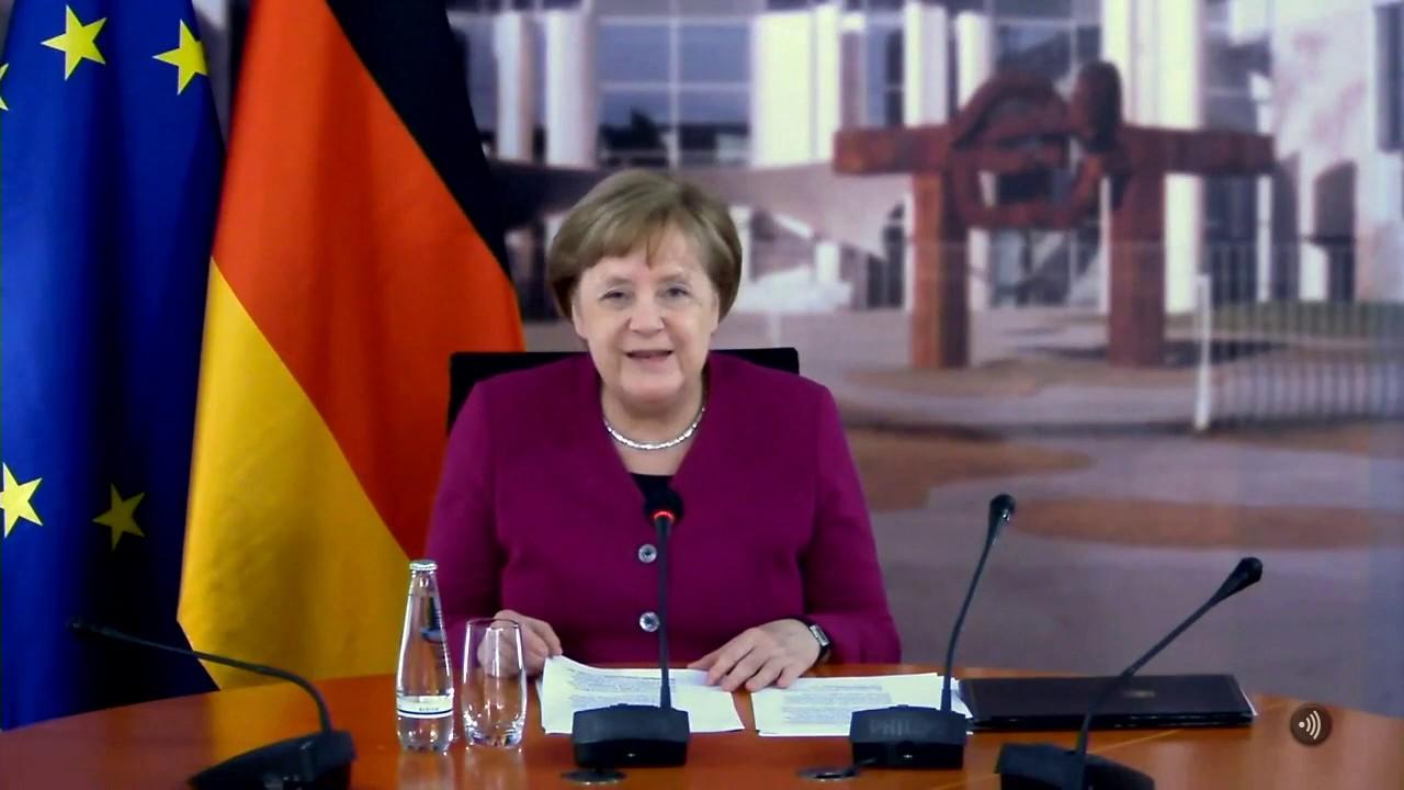 Livestream Merkel