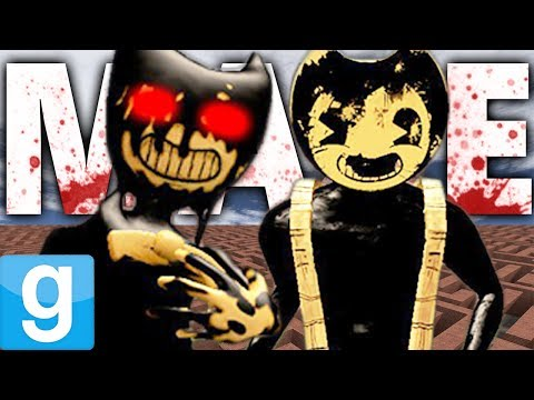 BENDY AND THE INK MACHINE MURDER MAZE?! | Gmod Sandbox Fun
