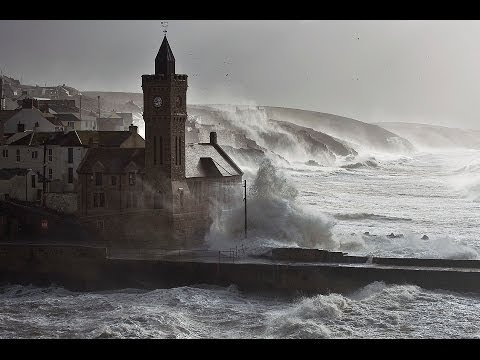 The storms that hit southwest England