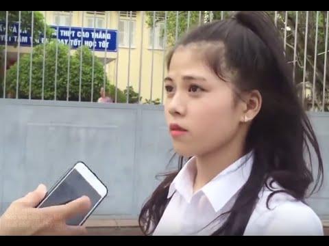 Trả lời Phỏng vấn của Học sinh Huế kỳ thi THPT 2016 - Hài Hước