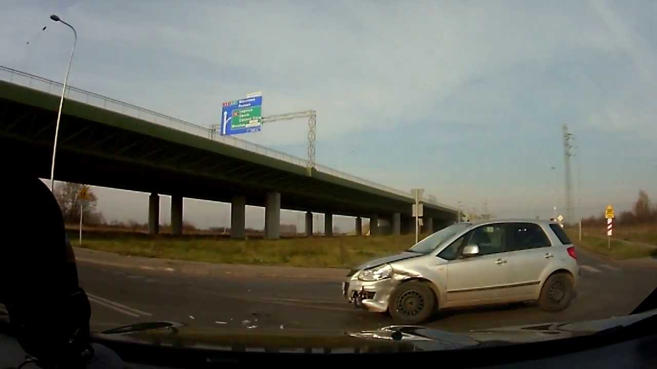 Mała stłuczka samochodowa we Wrocławiu