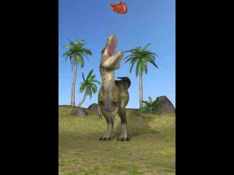the day in a life as a dinosaur