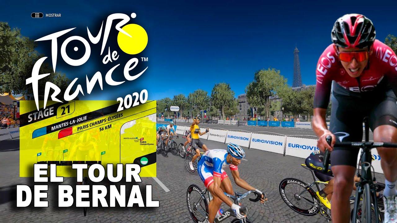 TOUR DE FRANCE 2020 El Tour de Egan Bernal #21 VR_JUEGOS