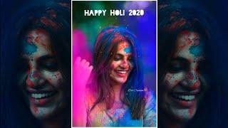 Holi Special DJ Remix Whatsapp Status 2020 | Full Screen Holi Status Video