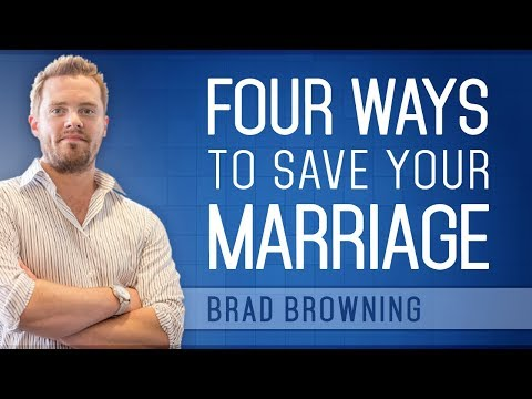 4 ways to save your marriage (prevent divorce or separation)